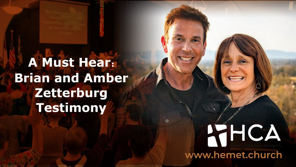 A Must Hear: Brian and Amber Zetterburg Testimony Image