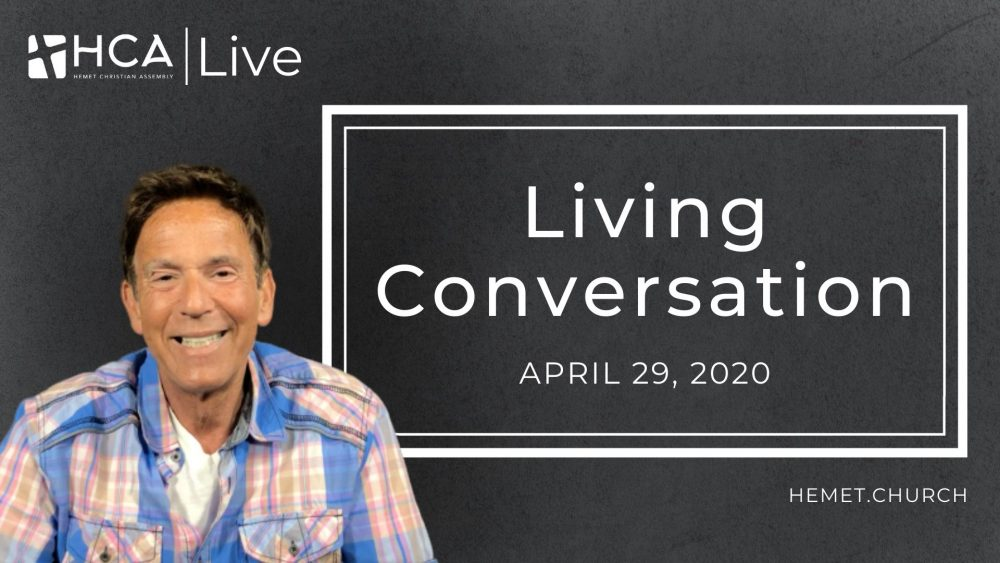 Living Conversation - April 29 Image
