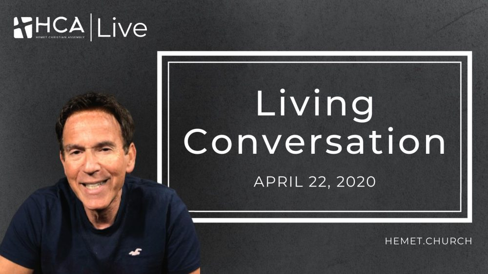Living Conversation - April 22 Image