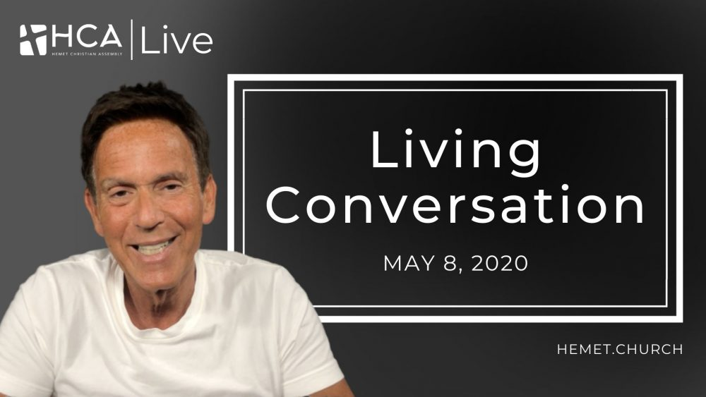 Living Conversation, May 8, 2020 Image